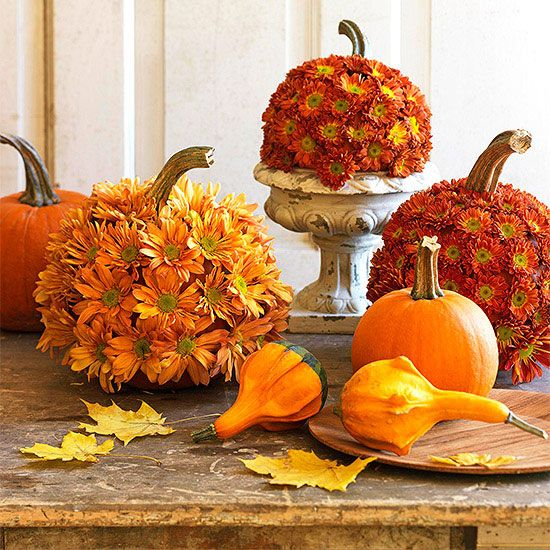114 best Fall Decorations images on Pinterest Fall decorations - natural halloween decorations