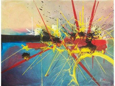 Georges Mathieu - Souvenirs délaissés (1990)
