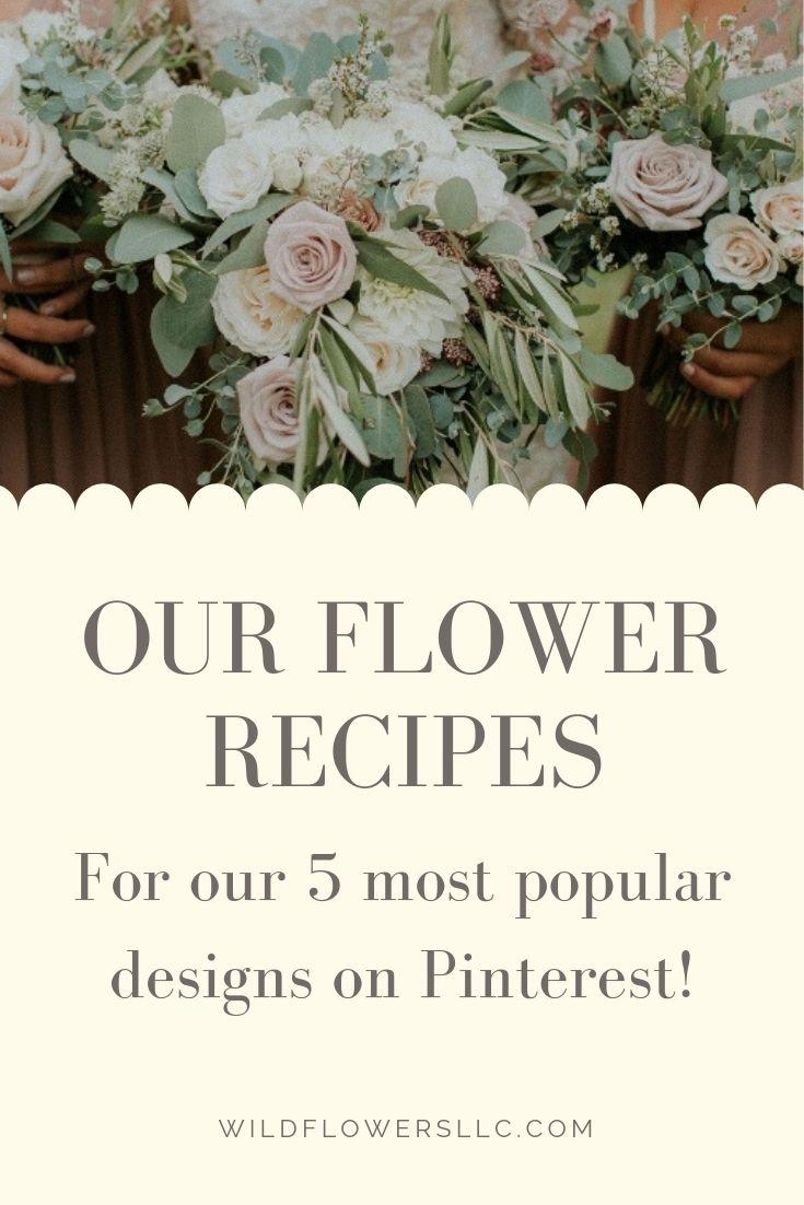 Free Flower Recipes Flower Food Ceremony Flowers Wedding Flower Inspiration