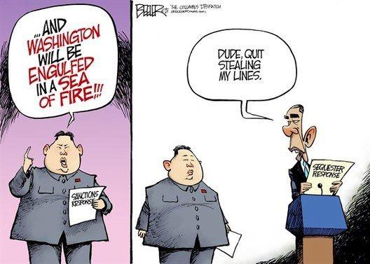 Peace in Korea? Political Cartoons – Orange County Register |Current Political Cartoons North Korea