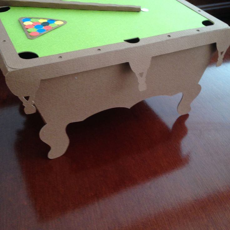 Pool table box @svgcuts