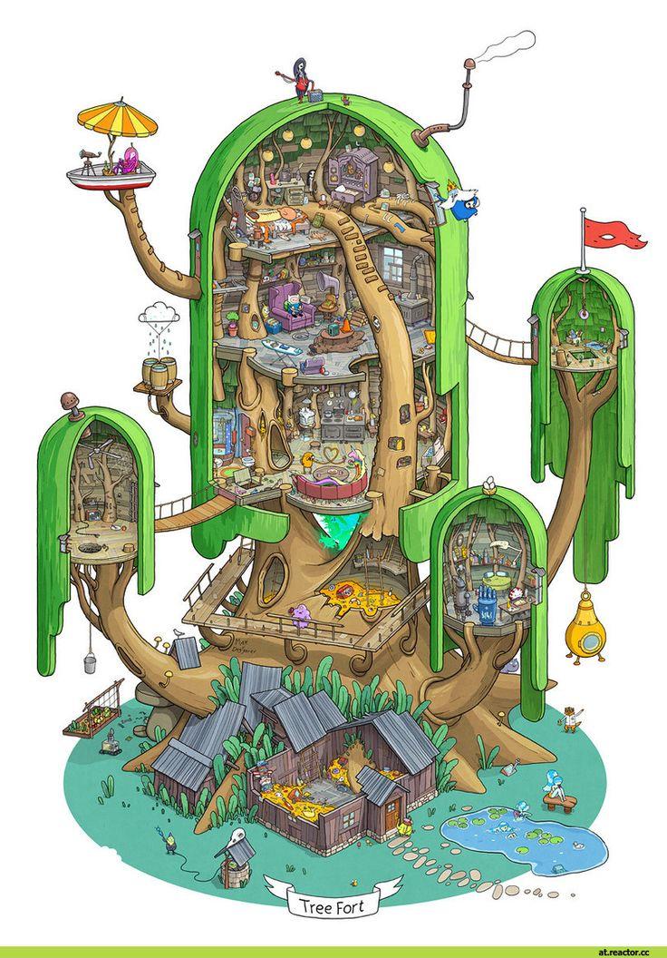 tempo de aventura, tempo de aventura, fandom, dentro forte de madeira