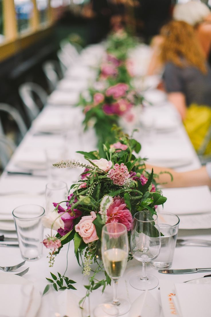 vines to cascade onto tables. | by Flower Jar. | photo Lavan Photography