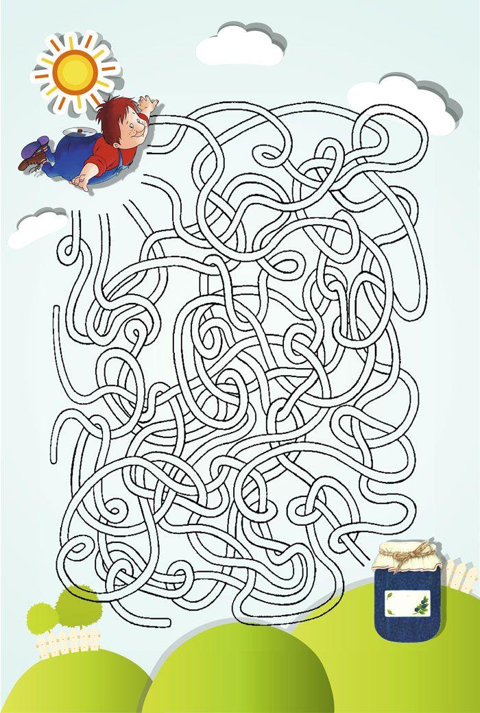 лабиринты или схема путь в картинках столь ранее