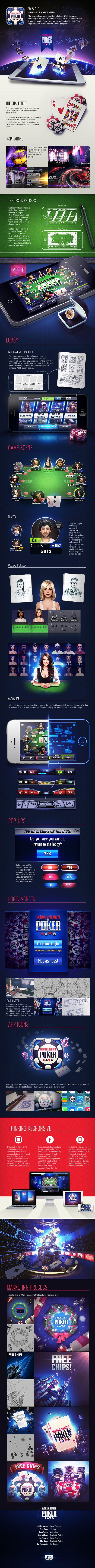 WSOP - The poker face-lift on Behance