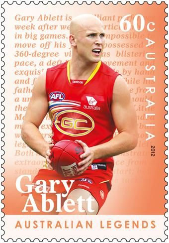 GARY ABLETT JR. ~ (born 14 May 1984) is a professional Australian rules football player and the current captain of the Gold Coast Football Club in the Australian Football League (AFL). Ablett is a dual premiership player, a dual NAB Cup winner, a dual Brownlow Medallist, a record five-time recipient of the Leigh Matthews Trophy.