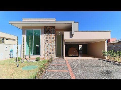 Linda casa térrea no Condomínio Jardins Lisboa em Goiânia – YouTube   – Mid-century modern