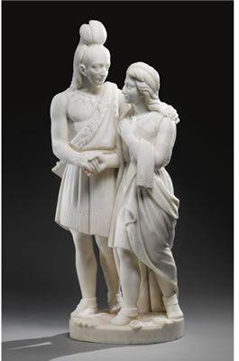 Marriage of Hiawatha-Edmonia Lewis