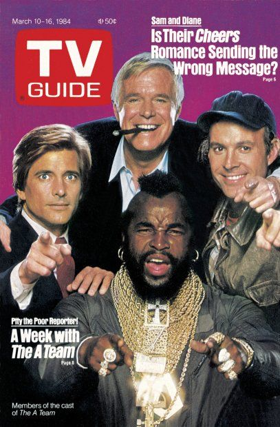 March 10 1984-  George Peppard, Mr T,  Dwight  Schultz &  Dirk Benedict  [ The  A Team ]