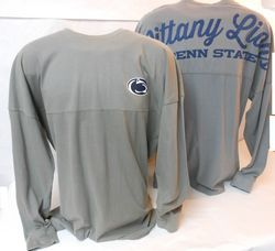 Penn State Nittany Lions Spirit Jersey Charcoal