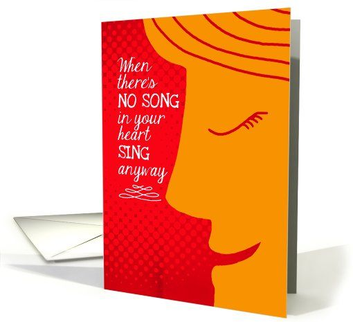 13 best cancer greeting cards images on pinterest greeting cards sing anyway inspiration for cancer patients card m4hsunfo