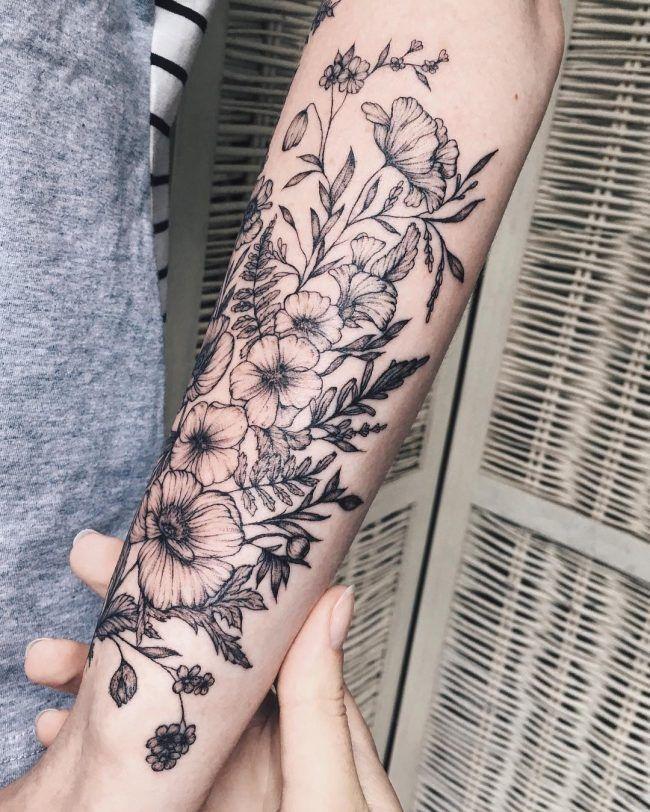 90+ Charming Feminine Tattoo Designs – zierlich, Spaß und Ladylike – DarkTeaTime