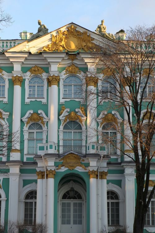 Winter Palace, St Petersburg Russia 'Dancing bears, painted wings, things I almost remember... end a song someone sings once upon a December...'