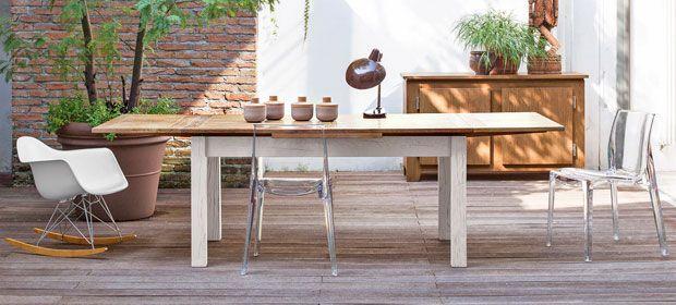Pi di 25 fantastiche idee su tavoli in legno su pinterest for Tavoli allungabili moderni economici