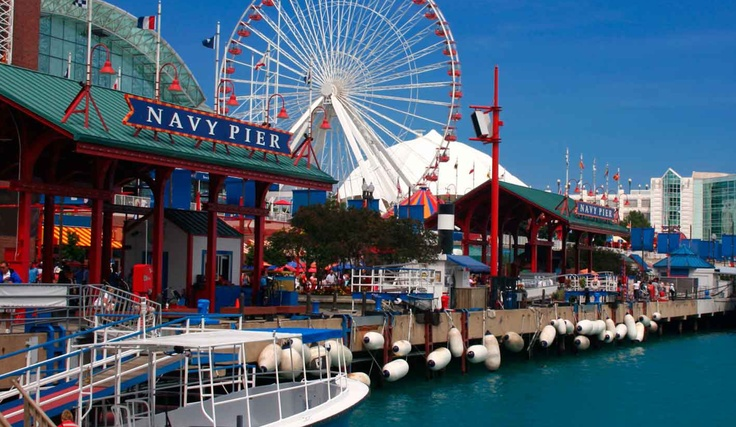 Navy Pier a orillas del lago Michigan en Chicago - Adquirida por Europamundo