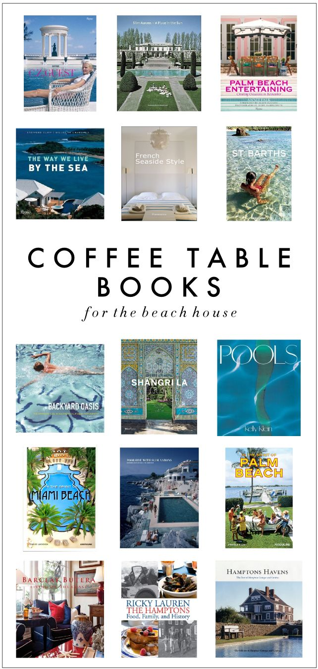 69 best coffee table books images on pinterest coffee table coffee table books with a beachpool theme geotapseo Choice Image