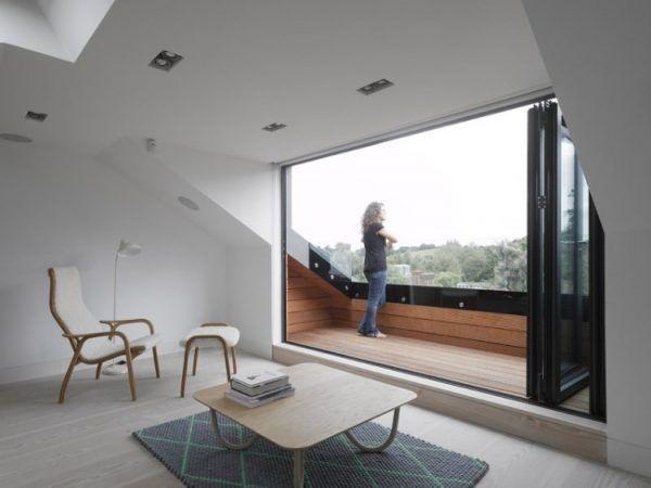 26 besten attic terrace Bilder auf Pinterest Dachausbau - kleines schlafzimmer fensterfront