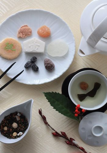 「大福茶」をいただきながら新年スタートですの画像 | Lilyのお茶時間inSingapore