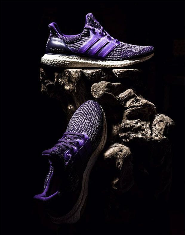 8104eb374 The adidas Ultra Boost Royal Purple is headed to retailers this Spring 2017  featuring a vibrant purple upper and a see-through three stripe overlay  cage.