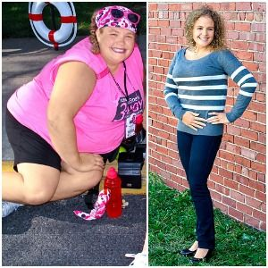 Together, this mom of two and her husband lost 219 pounds — here's how they did it. @aftertheband www.karengillman.com www.facebook.com/aftertheband