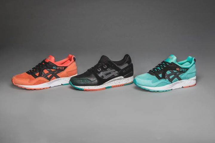 Acheter Achat Asics Tiger Gel Lyte Iii Miami Vice Chaussures
