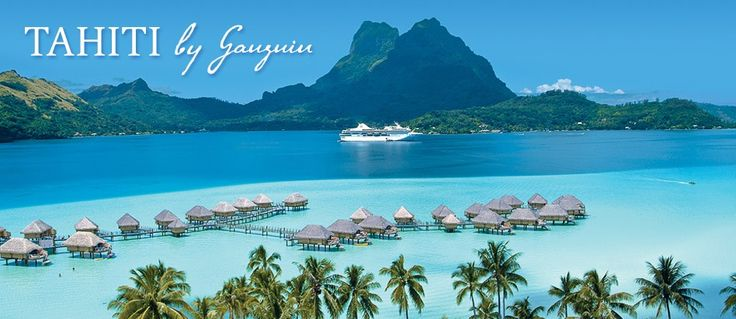 The m/s Paul Gauguin was designed specifically to sail the shallow seas of Tahiti and French Polynesia, visiting small ports that larger ships can't reach and effortlessly blending into the stunning natural beauty of the South Seas.  www.pgcruises.com