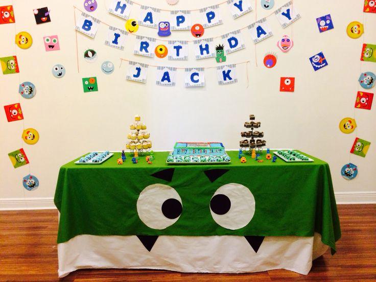 Jack's Monster Themed 1st Birthday!