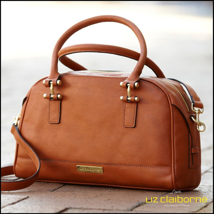 Luggage strand satchel – a fall essential! I love the versatility of this Liz Claiborne bag