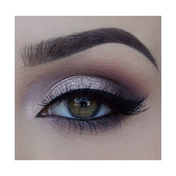 Make-Up Eye via Tumblr We Heart It ❤ liked on Polyvore featuring beauty products, eyes and makeup