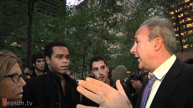 Peter Schiff Speaks for 1 Percent at Occupy Wall Street