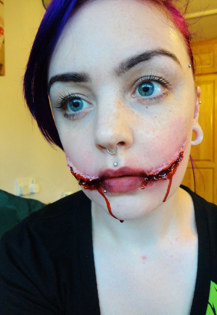 11 best Smile? (Chelsea Grin) images on Pinterest | Fx makeup ...