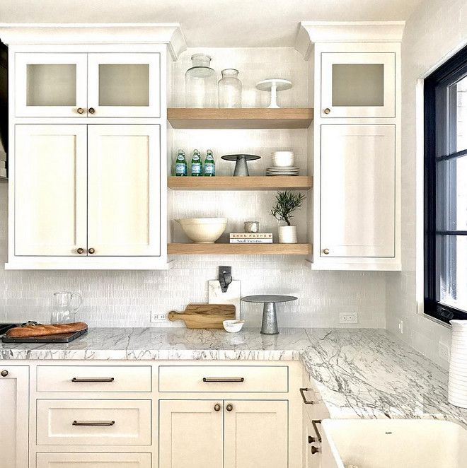 White Kitchen Shelf: Best 25+ White Farmhouse Kitchens Ideas On Pinterest