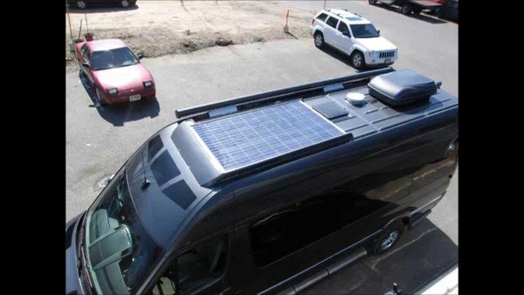 AMAZING!! Solar Powered RV On the 2014 Mercedes Sprinter van - Roadtrek ...