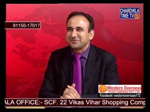 Western overseas - Live TV Show on Study Visa and IELTS