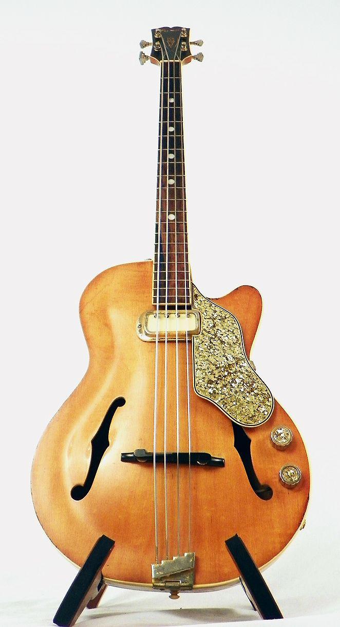 377 best vintage bass guitars images on pinterest - Mobile basso vintage ...