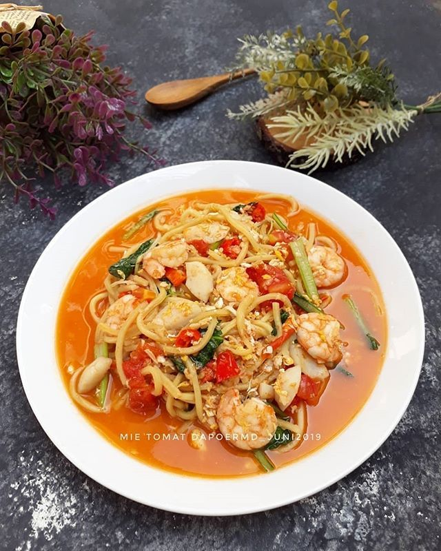 New The 10 Best Food Ideas Today With Pictures Reposted From Uthinute Mie Tomat Bahan U 1 Porsi 150 Gr Mie Hokkian B Taoge Kecap Inggris Tomat