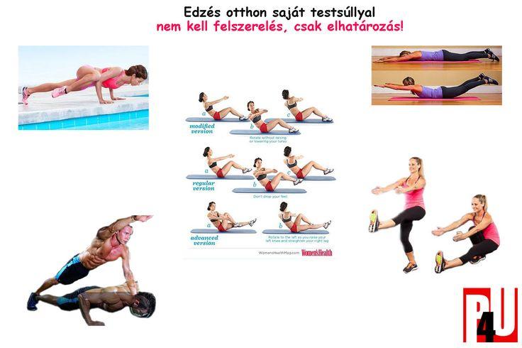 saját testsúllyal végezhető otthoni edzés, home workout, Bodyweight training