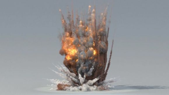 3ds Max - Creating an Explosion with Phoenix FD and PFlow Tutorial