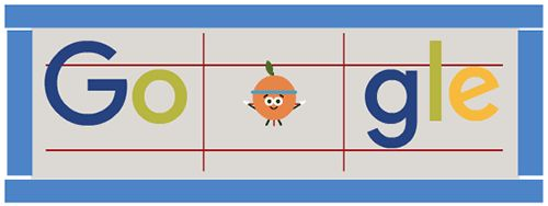August 13th, 2016 animated image Day 9 of the 2016 Doodle Fruit Games! Find out more at g.co/fruit https://www.google.com/logos/doodles/2016/2016-doodle-fruit-games-day-9-5664146415681536-hp.gif (search page mini doodle -quite different-: https://www.google.com/logos/doodles/2016/2016-doodle-fruit-games-day-9-5664146415681536-res.png )