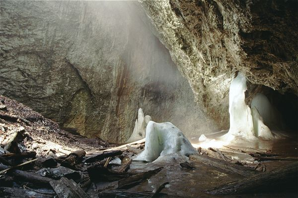 The Cave from Focul Viu  (living fire)