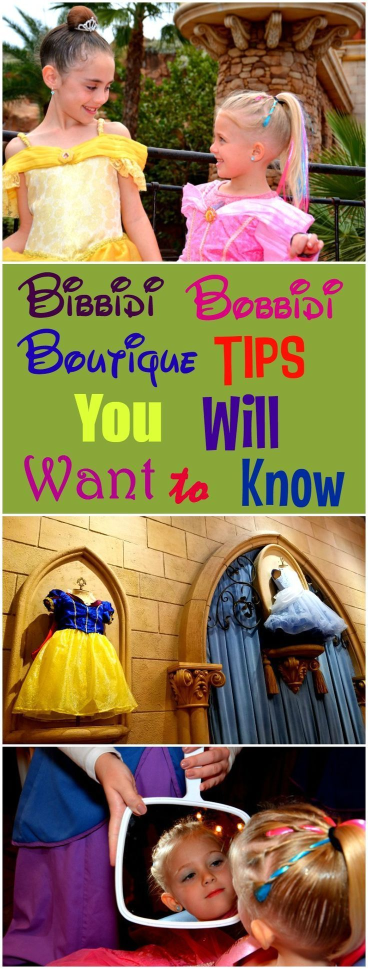 A list of tips that will help you save time and money while at Bibbidi Bobbidi Boutique at Walt Disney World.
