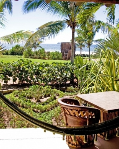 Ocean View Suites have private terraces with views of the Pacific Ocean. #JSHammock