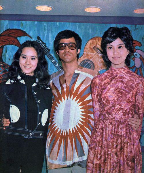 Nora Miao, Bruce Lee, and Maria Yi