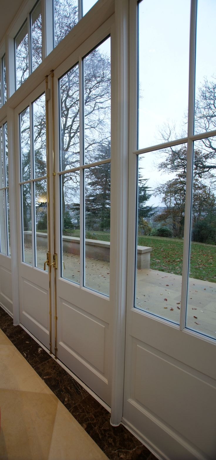 Timber French Doors by TJ Ross