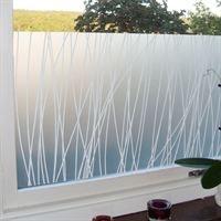 Maria Liv window film seen here - http://www.apartmenttherapy.com/boston/window-coverings/15-modern-window-films-119957