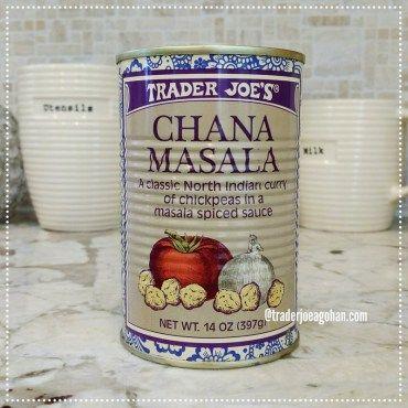 トレジョのインドカレー チャナマサラ Trader Joe's Canned Chana Masala $1.99 | #トレジョ #インドカレー  #チャナマサラ #TraderJoes  #Chana #Masala