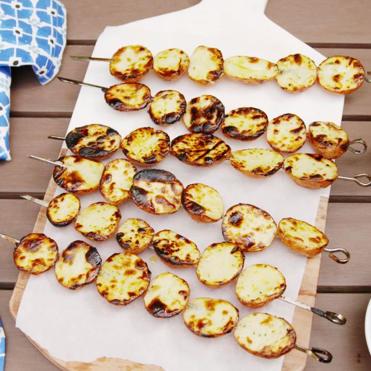 Now we want to grill all our potatoes!