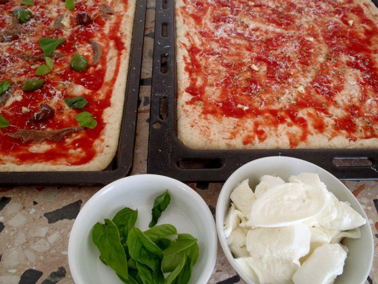 Pizza Integrale (Impasto Metodo Diretto) on http://casafacilefelice.org
