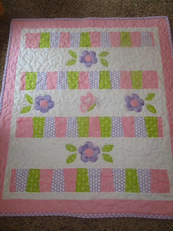 Hey, I found this really awesome Etsy listing at https://www.etsy.com/listing/262147347/baby-girls-pink-and-purple-flower