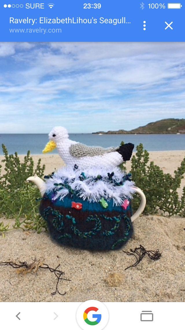 Seagull Tea Cosy - Alderney